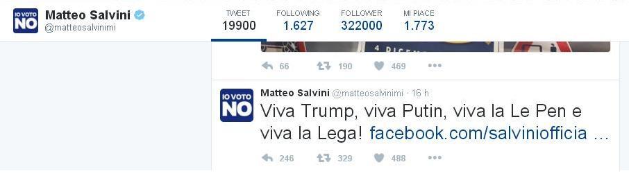 Referendum Salvini Putin