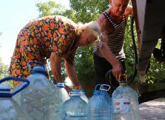 Člověk v tísni byl při své práci v Doněcku vždy transparentní a pomohl statisícům lidí