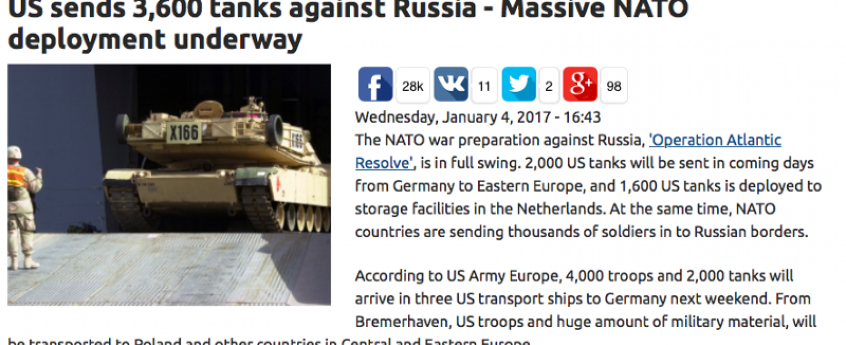 Три тысячи фейковых танков