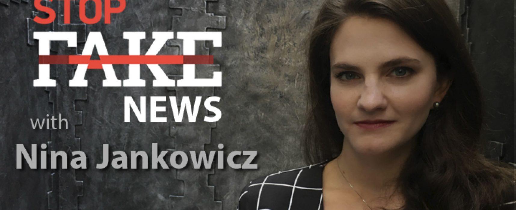 StopFakeNews #117 with Nina Jankowicz
