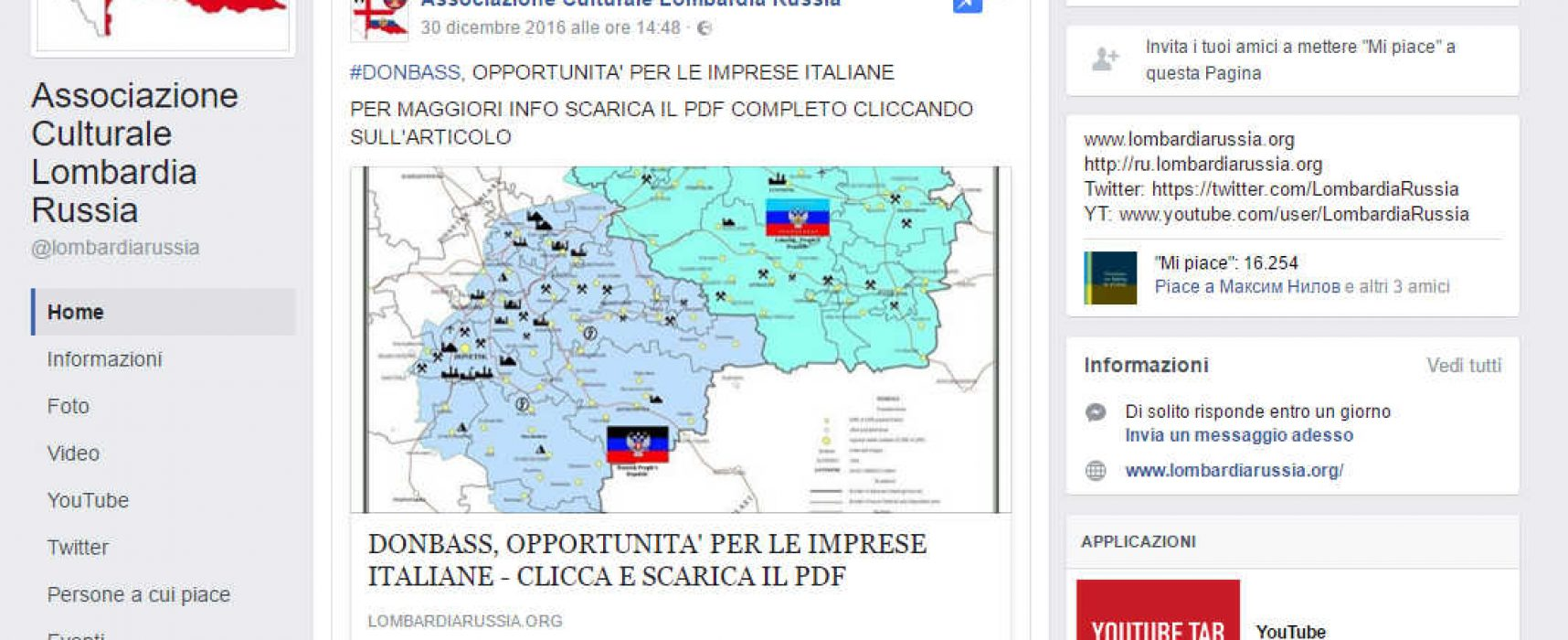 La Lega Nord invita veneti e lombardi a delocalizzare le loro aziende in Ucraina