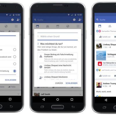 Facebook вводит в Германии проверку подлинности новостей