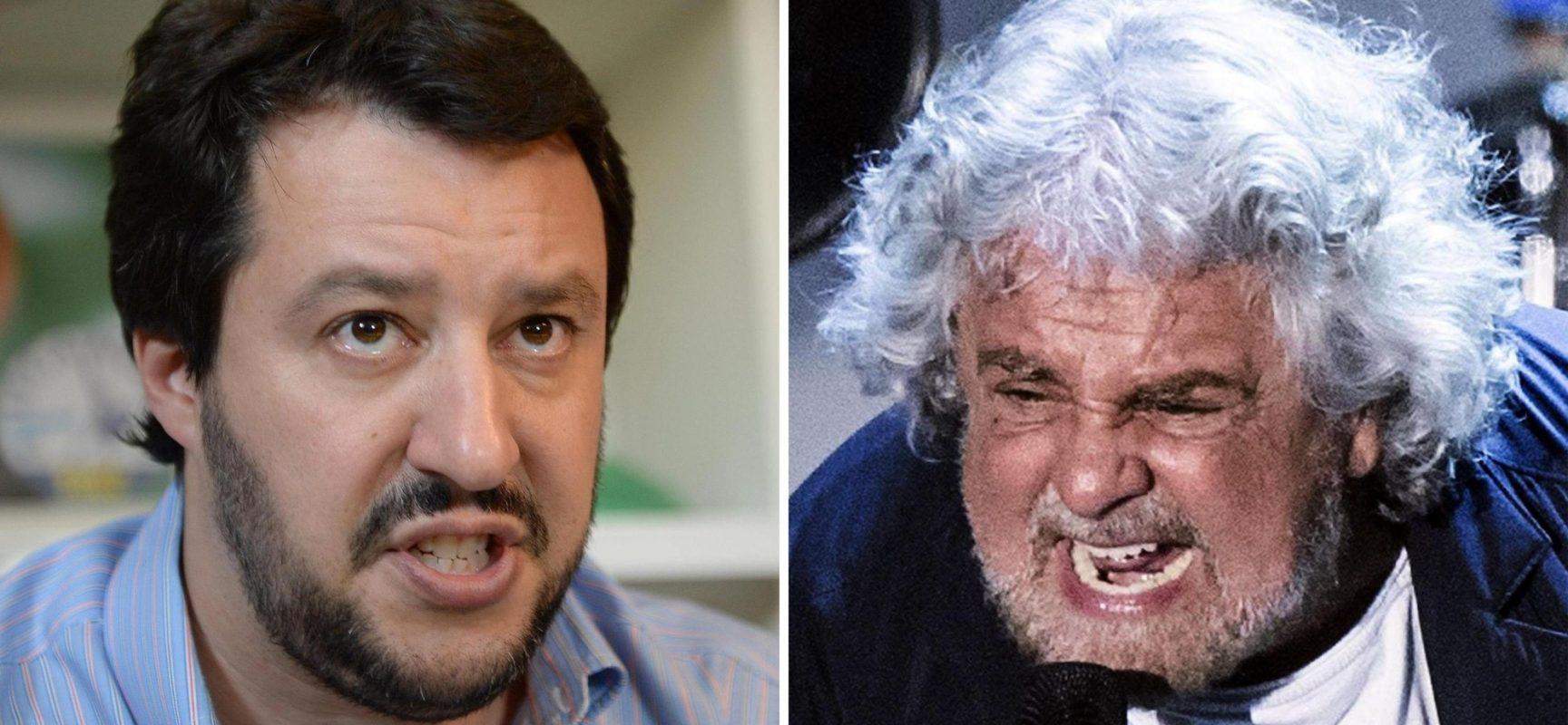 L'alleanza Grillo – Salvini nel nome di Putin