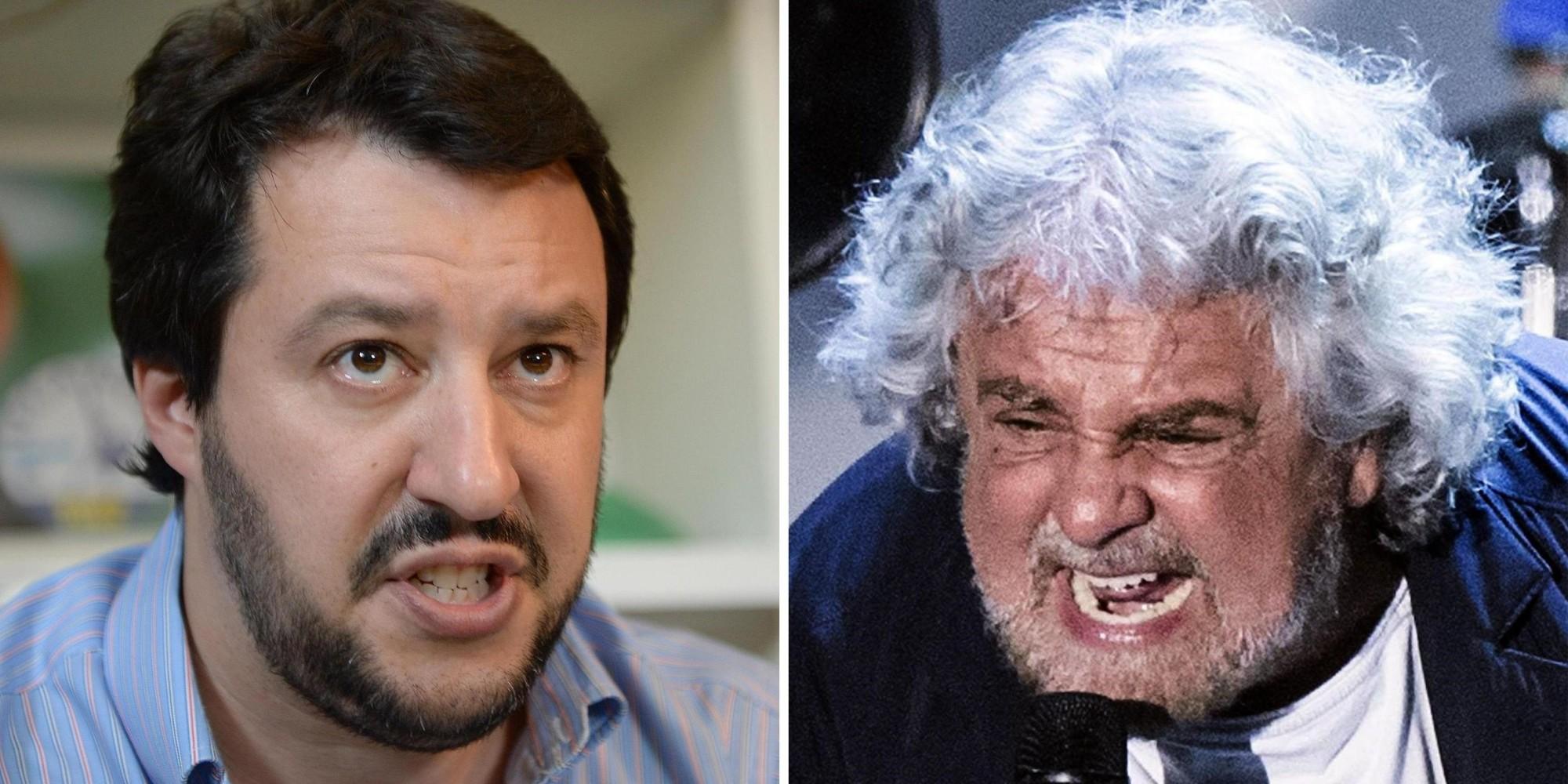 Chi segue da anni la geopolitica non sarà sorpreso del'alleanza Grillo - Salvini nel nome di Putin