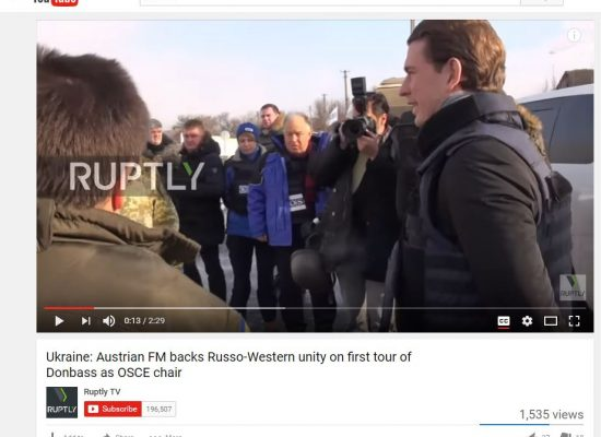 Fake: Austria's Foreign Minister for Western Unity with Russia