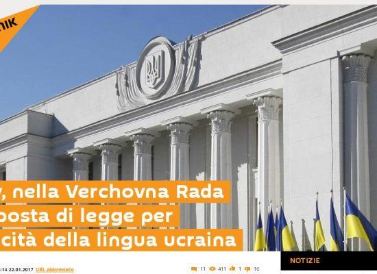 Fake : In Ucraina vietata la lingua russa