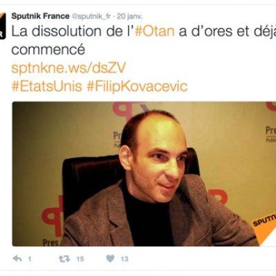 «Sputnik»: un instrument d'influence russe en France?