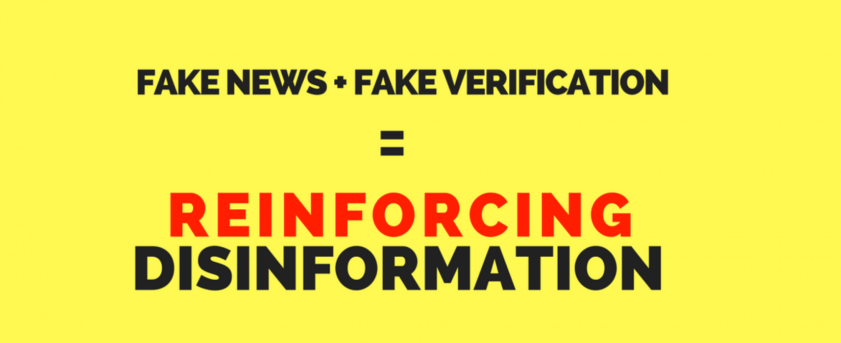 A fake fake news checker