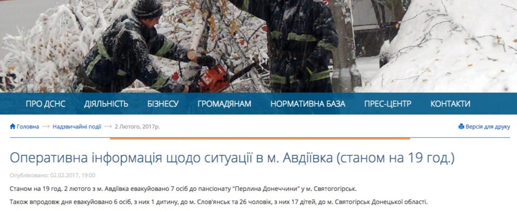 Falso: Las casas de Avdiivka fueron saqueadas tras una evacuación forzosa