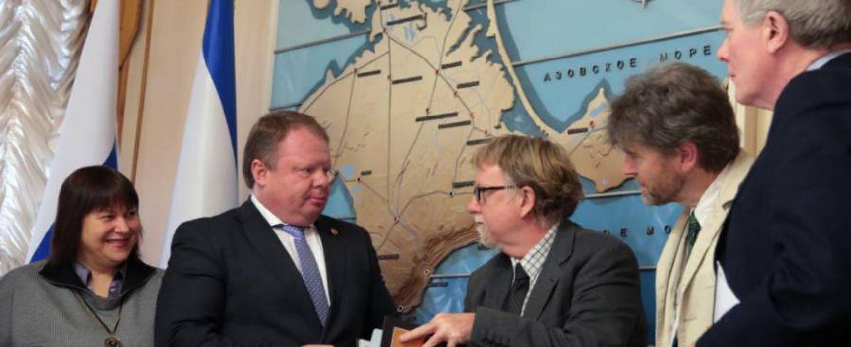 UK university denies any part in Russia's latest Crimea propaganda stunt