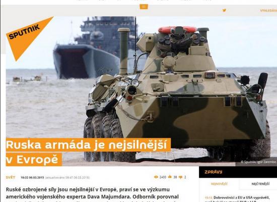Hoaxy, falešná obvinění, lži. Ruské dezinformace se stupňují, varuje NATO