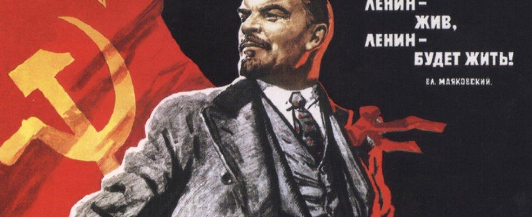 La Russia, Lenin e i cento anni della Rivoluzione d'Ottobre