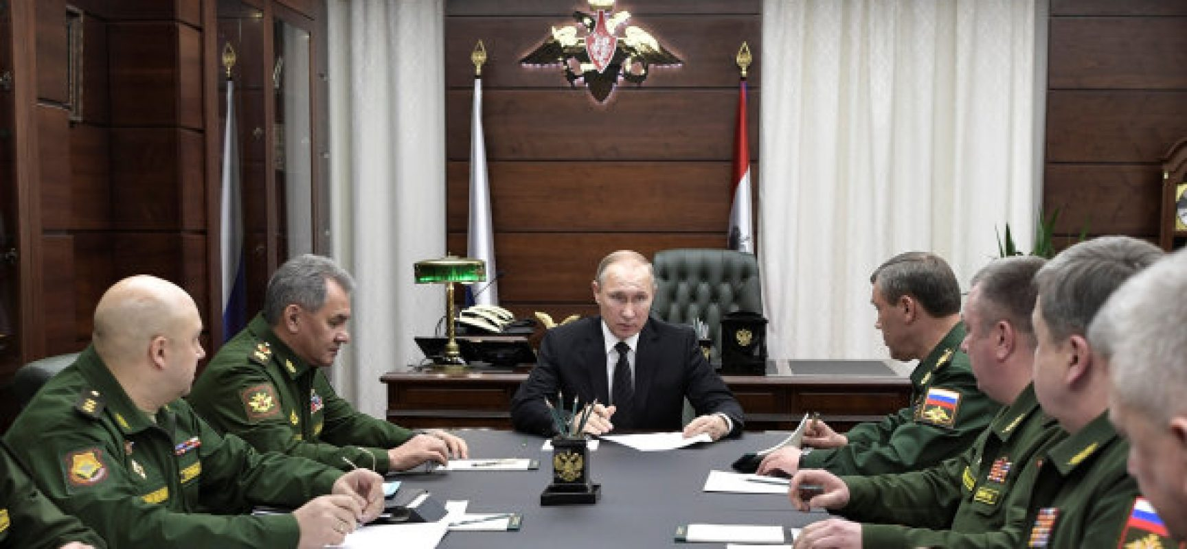 Lo zar Putin alla campagna d'Italia