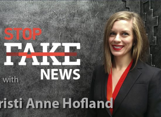 StopFakeNews #119 with Christi Anne Hofland