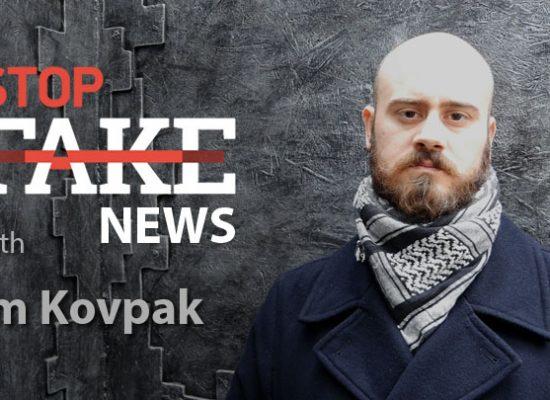 StopFakeNews #120 [ENG] con Jim Kovpak