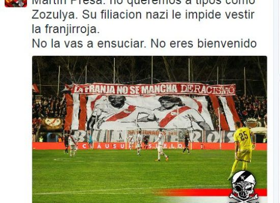 Spanish Media Again Accuse Ukrainian Footballer of Nazism