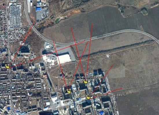 Живой щит в Донецке: пуски «Градов» возле жилого квартала