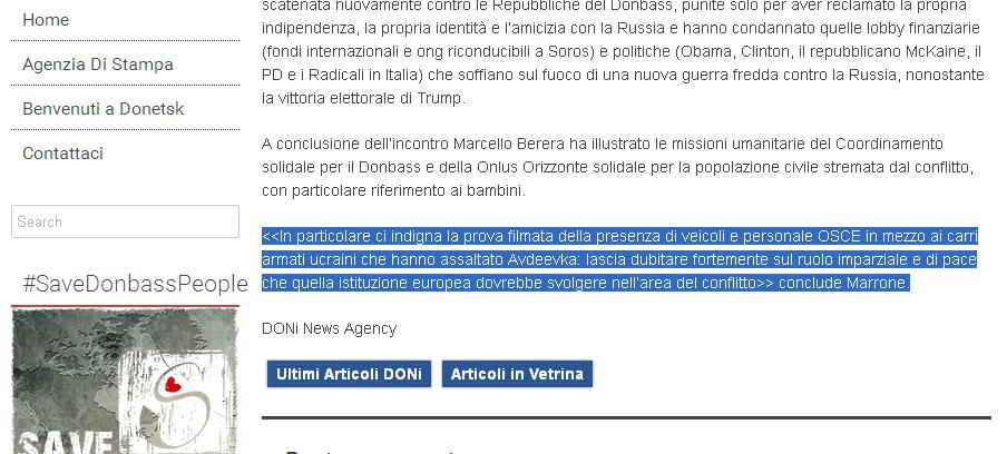 Le bugie di Maurizio Marrone