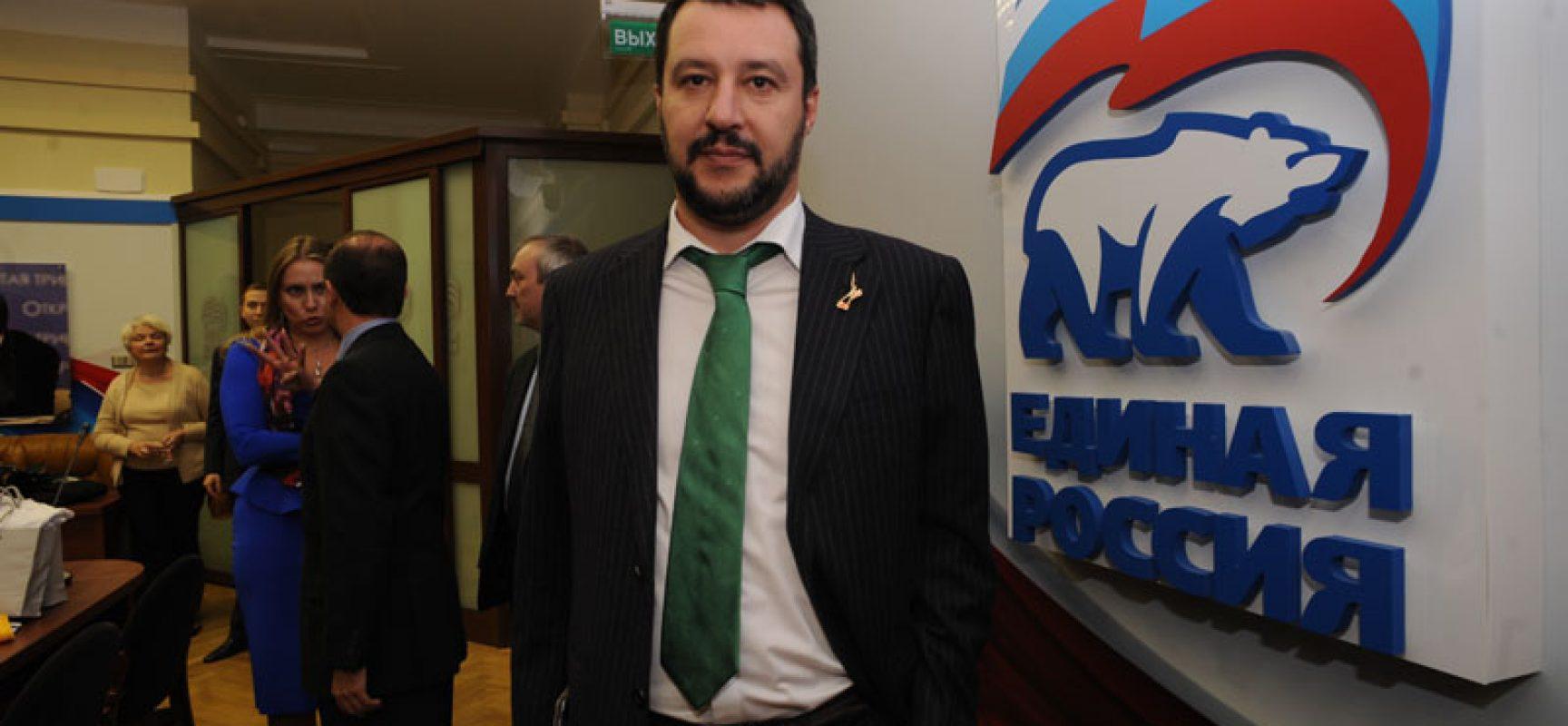 Le bufale di Salvini sulle sanzioni alla Russia