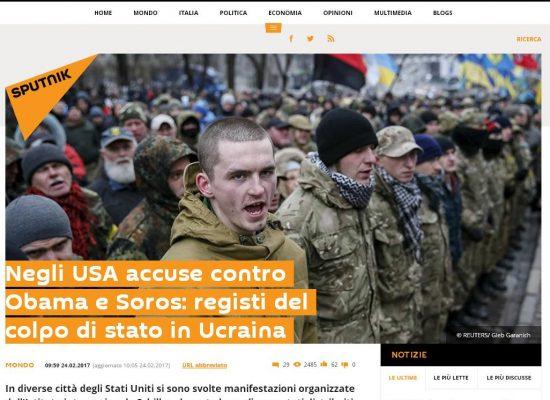 Fake : Obama e Soros dopo l'Ucraina progettano un colpo di Stato negli USA