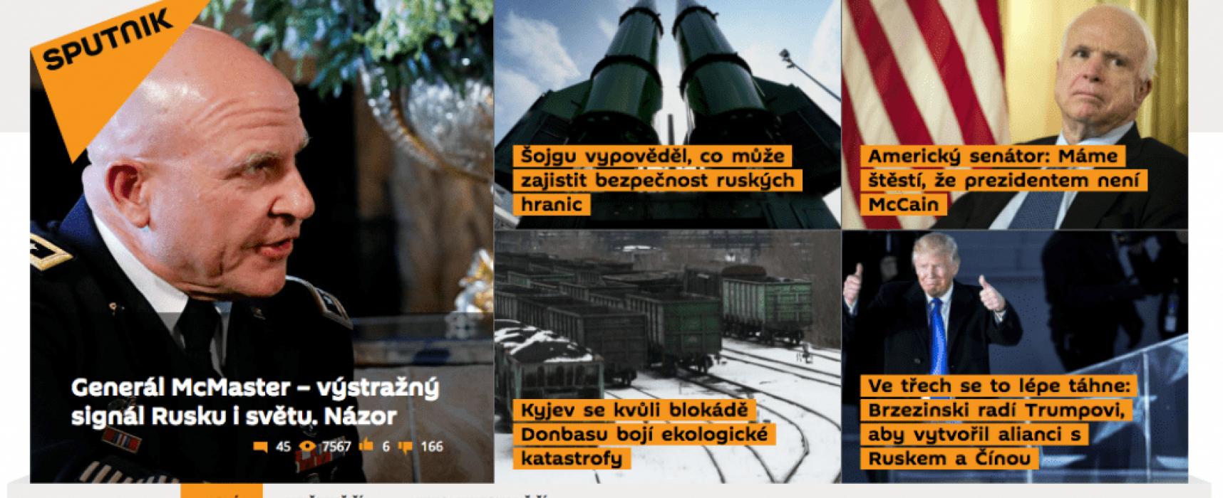 Proruské dezinformační kampaně: Perfektní lokalizace a přizpůsobení místním podmínkám