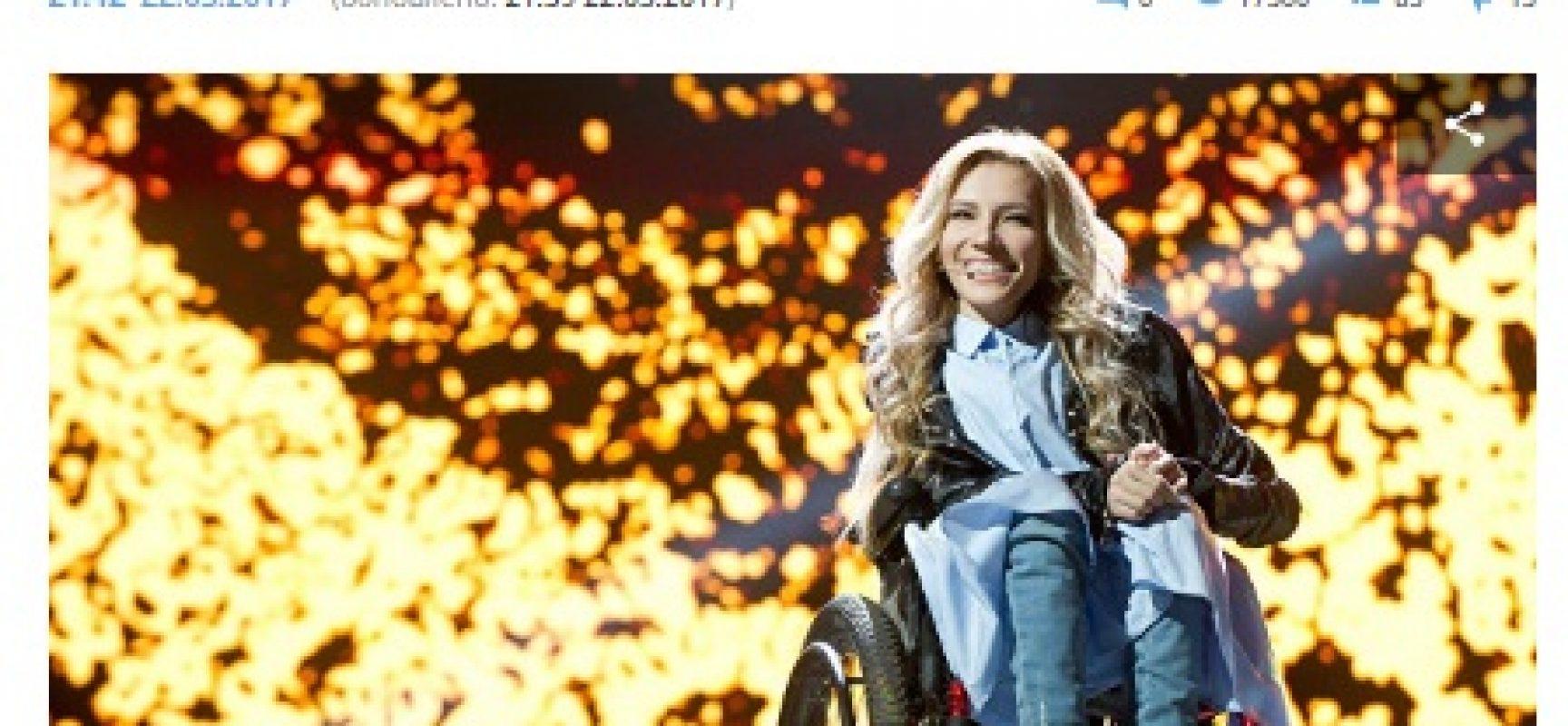 Divieto di ingresso in Ucraina a Yulia Samoilova