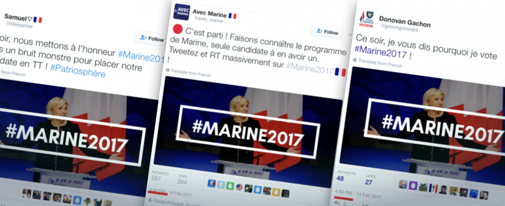 Le Pen's (Small) Online Army