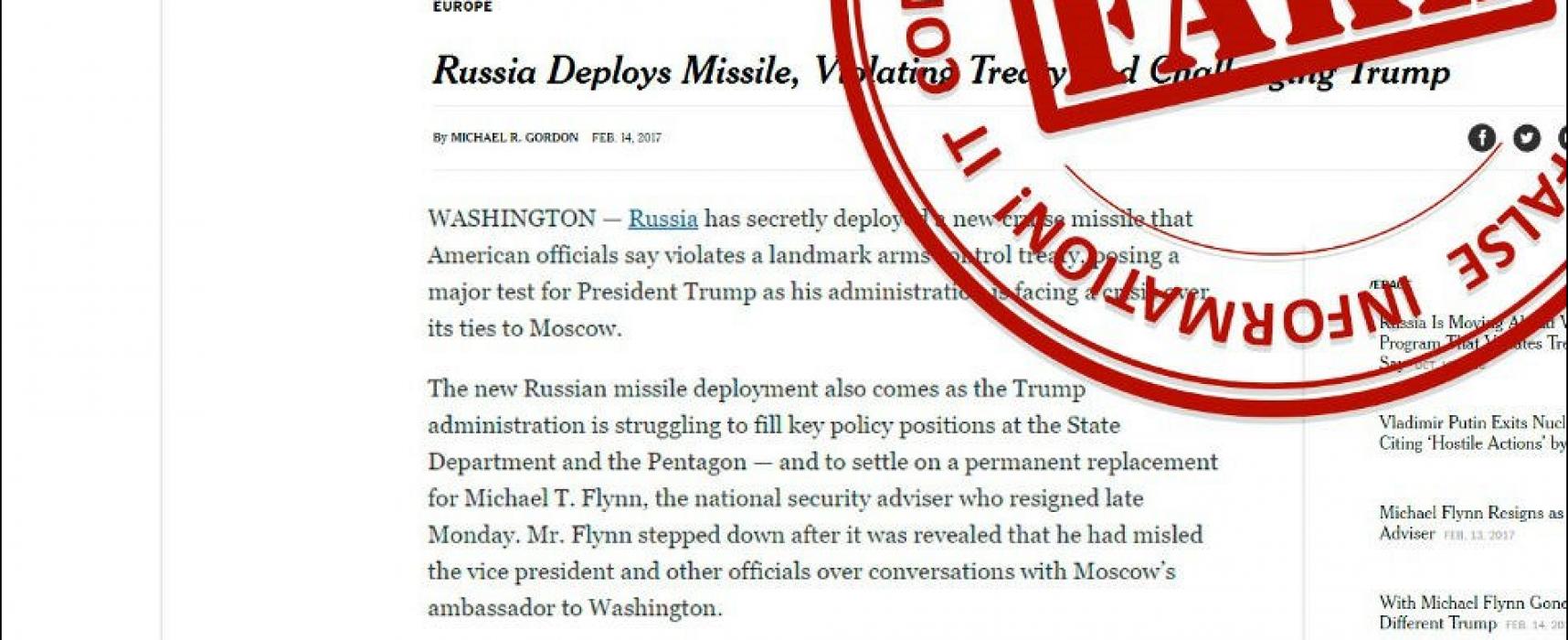 """ANALÝZA: Rusko razítkuje """"falešné zprávy"""". Hlavně ty, které se mu nelíbí"""