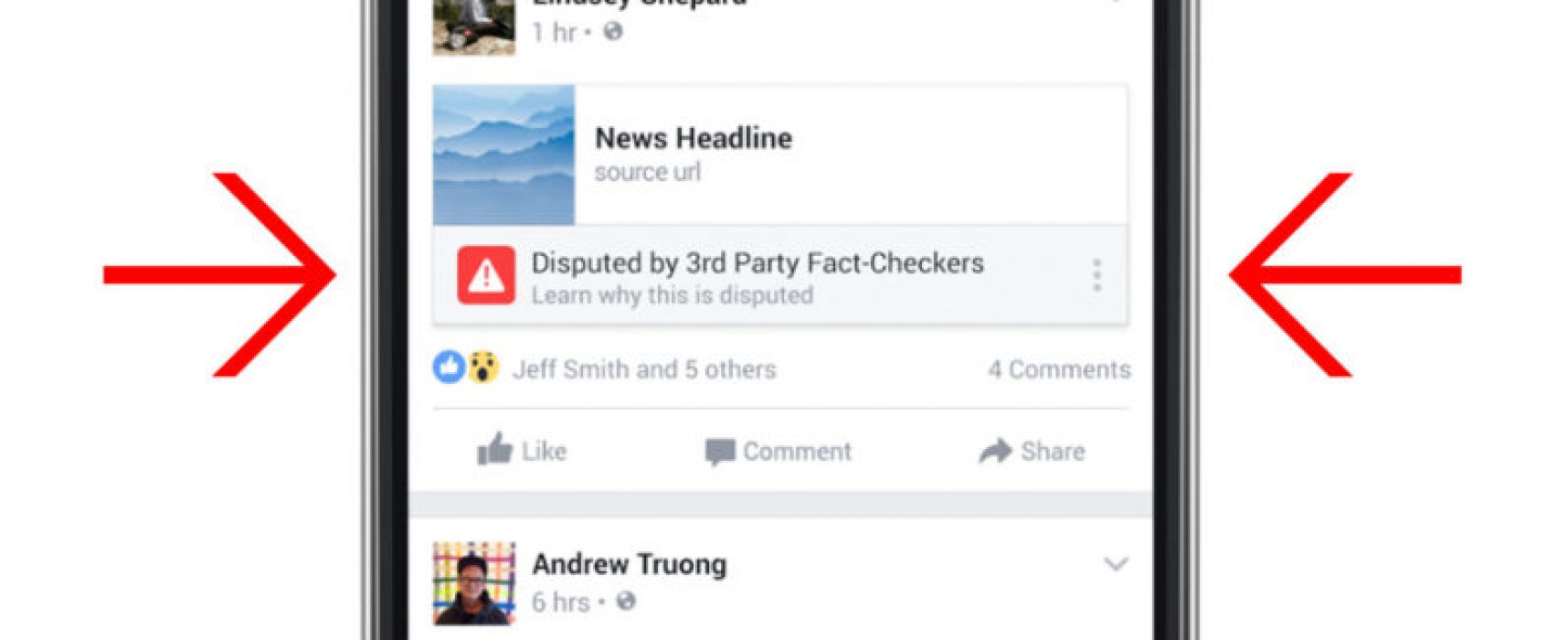 Facebook can now flag fake news stories as 'disputed'