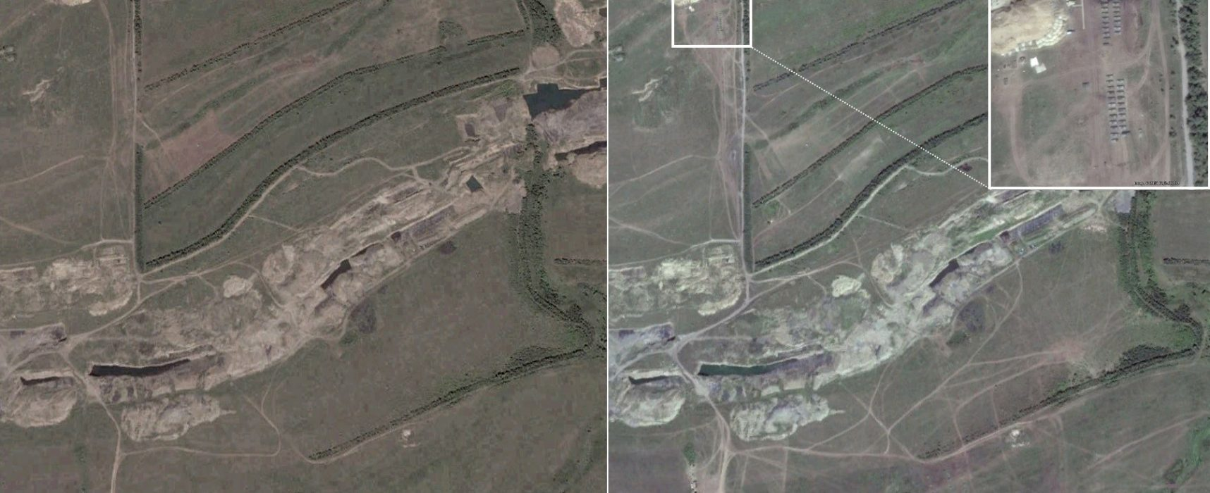 Die Panzer von Buhaivka: Ein verbotener Truppenübungsplatz in der Ostukraine