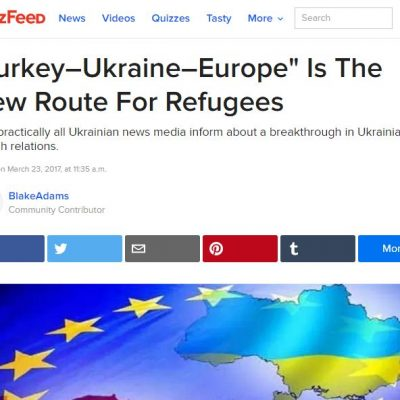 Falso: Ucrania abre tres campos para recibir a los refugiados de Siria