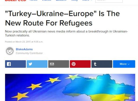Fake: Ukraine to Open Camps for Syrian Refugees
