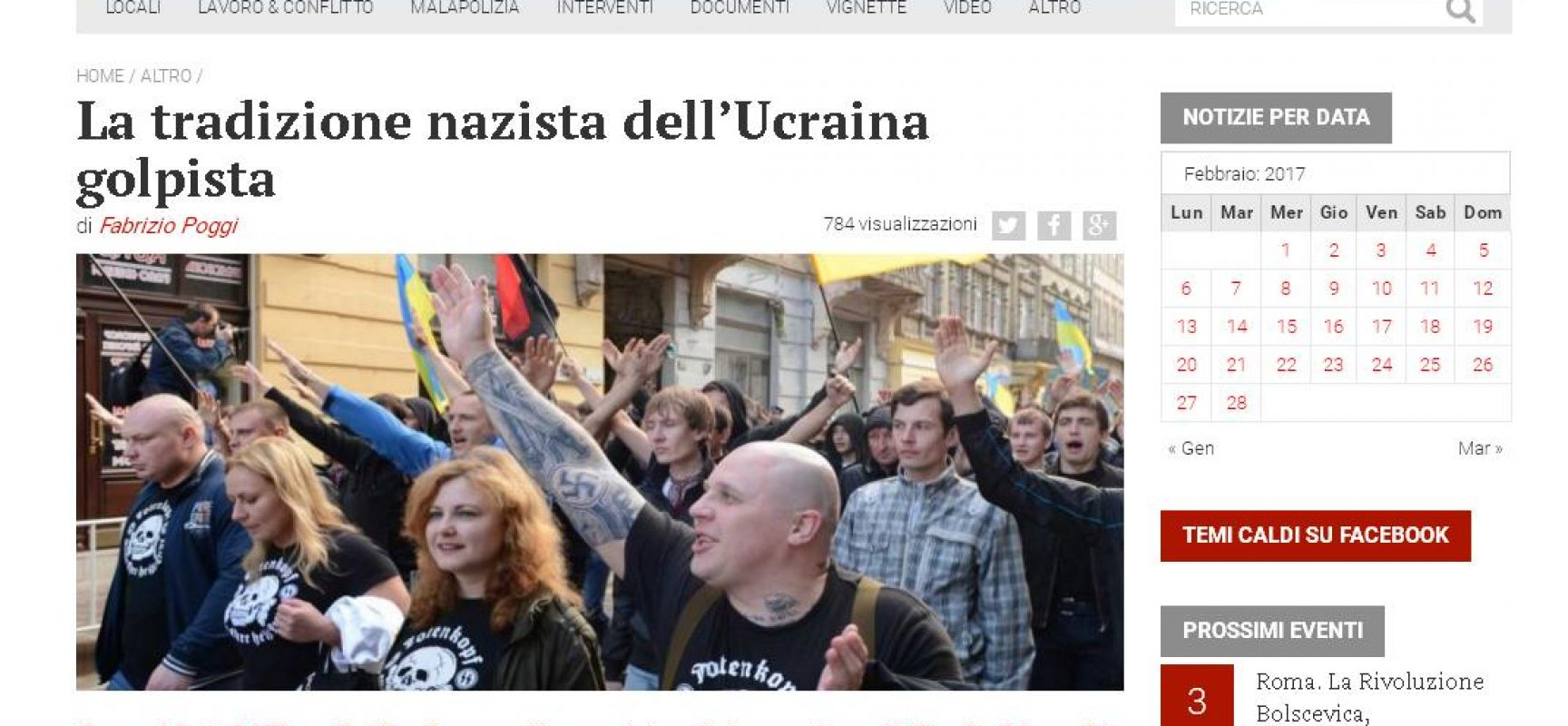 Olena Teliha, eroina della resistenza al nazi-fascismo in Italia diventa una nazista