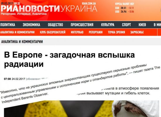 Russian state news agency misuses Barents Observer in fake news story