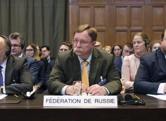 Россияне в суде ООН использовали в качестве доказательств фейки трехлетней давности