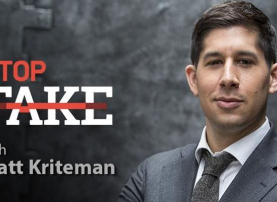 StopFakeNews #124 with Matt Kriteman