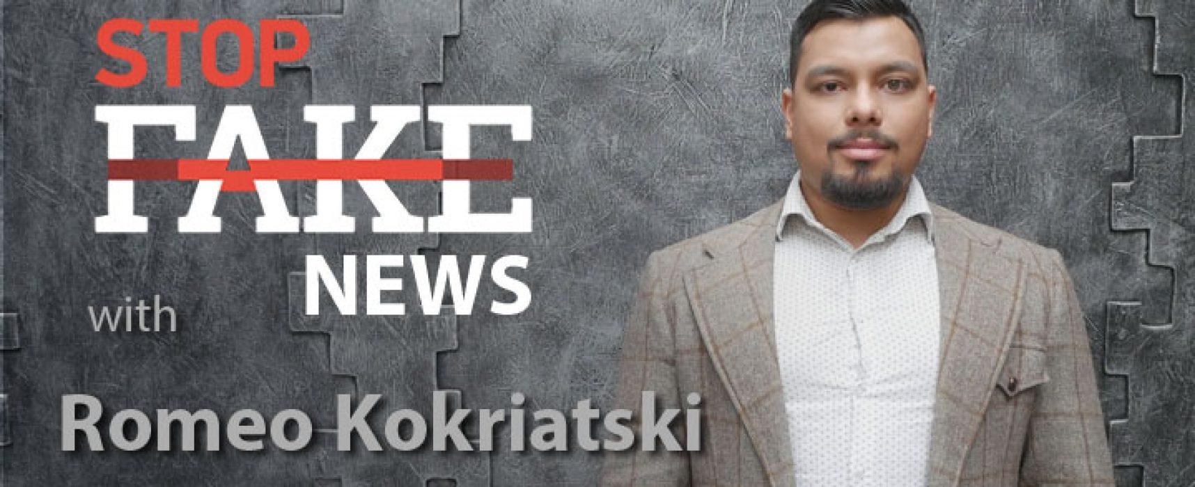StopFakeNews #128 with Romeo Kokriatski