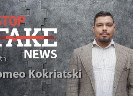 StopFakeNews #128 [ENG] with Romeo Kokriatski