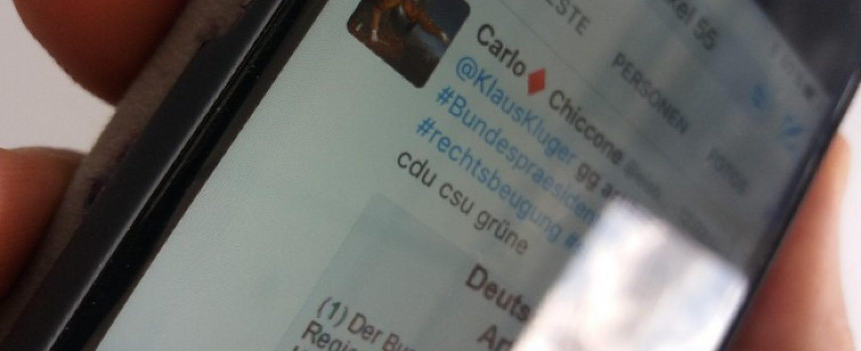 """Social-Media-Studie zur Bundespräsidentenwahl – Mit jedem fünften Tweet """"Junk News"""" verbreitet"""