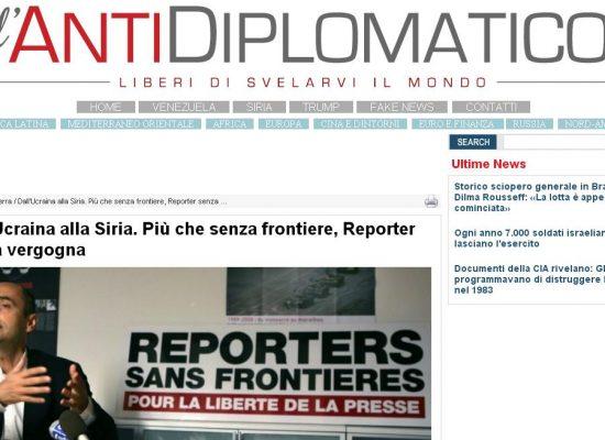 Fake : Dall'Ucraina alla Siria. Più che senza frontiere, Reporter senza vergogna