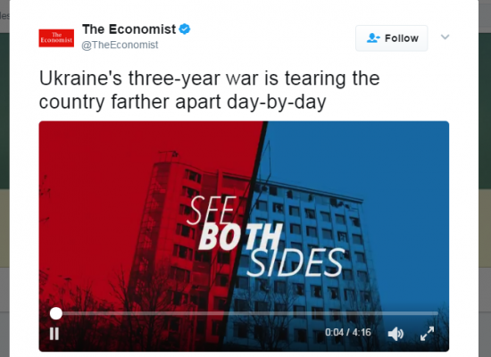 Bad Explainers: The Economist Misses the Point on Ukraine