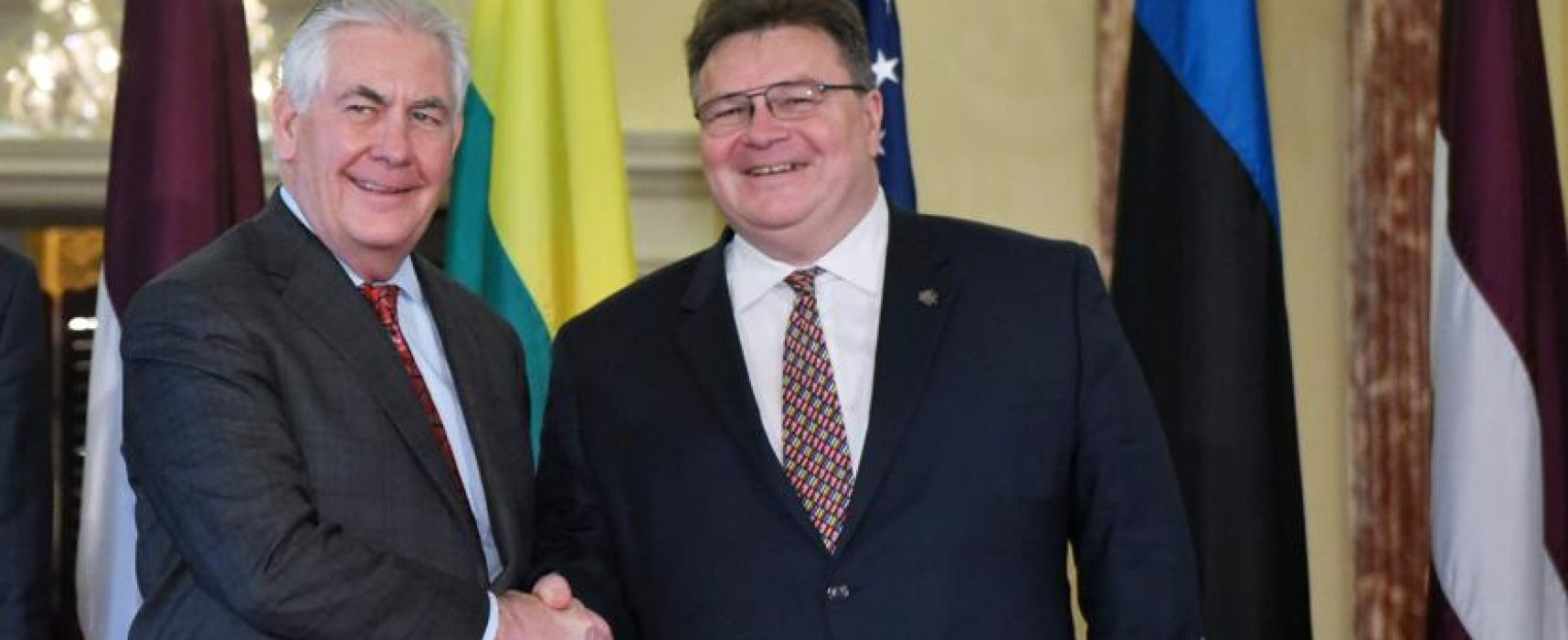 Il ministro degli Esteri lituano:«La propaganda russa? Come l'artiglieria»