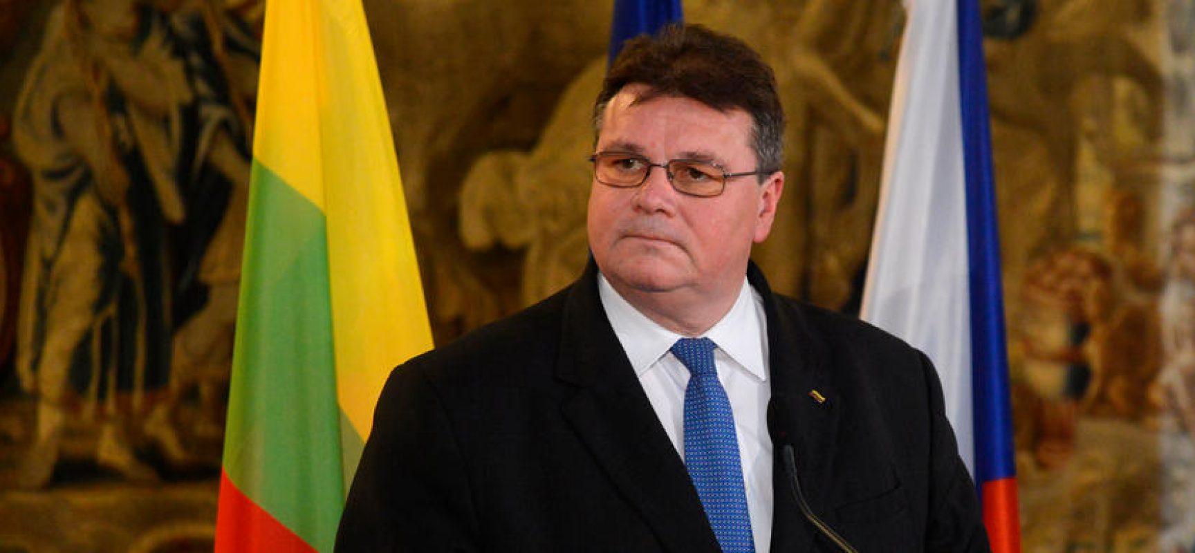 """Litauens Außenminister Linkevičius: """"Provokation ist, nichts zu tun"""""""