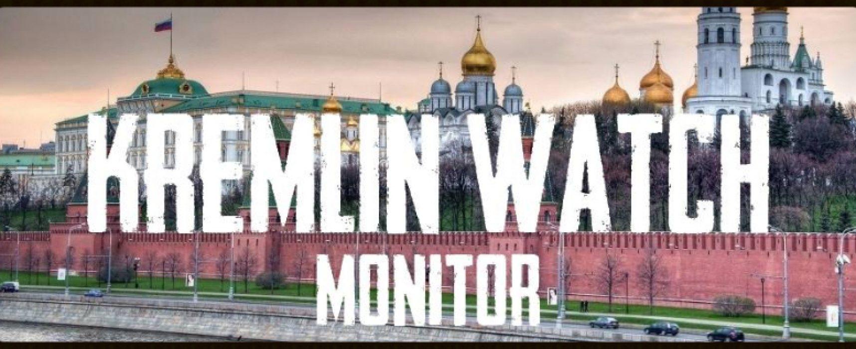 Kremlin Watch Monitor. May 18, 2017
