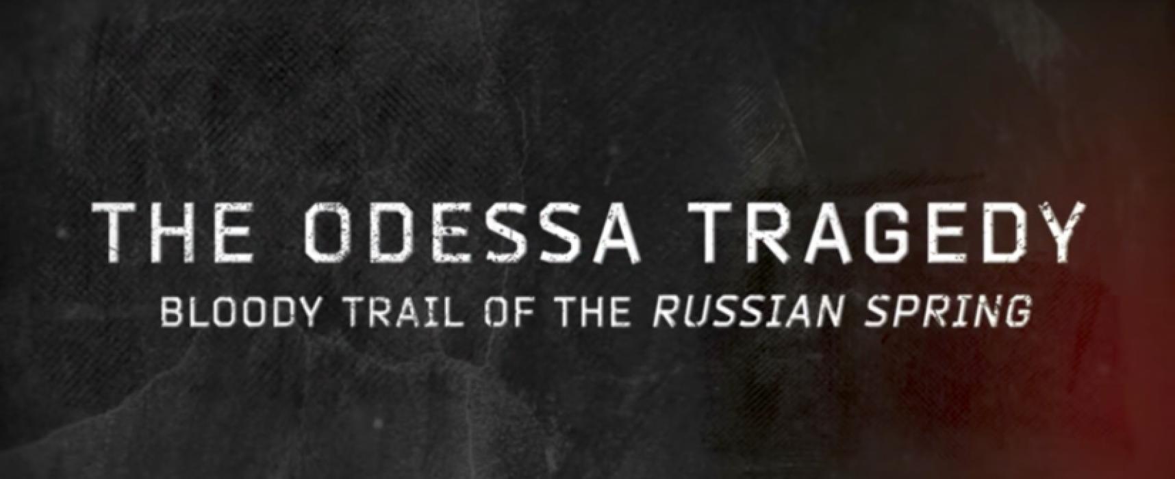La veille du troisième anniversaire de la tragédie d'Odessa, les 250 000 habitants de l'Europe pourront voir le film sur les événements du 2 mai 2014