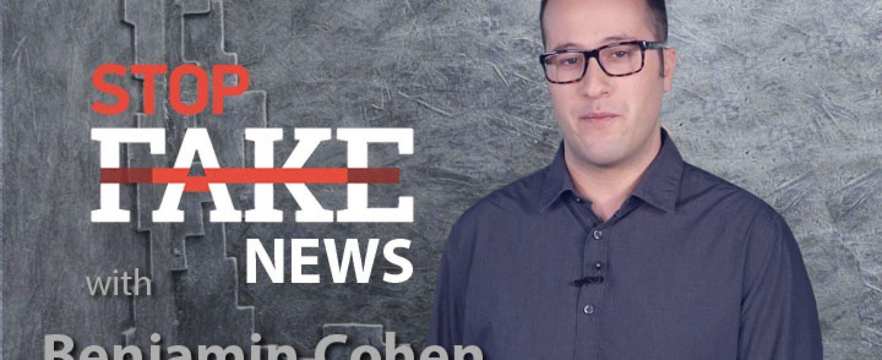 StopFakeNews #129 [ENG] con Benjamin Cohen