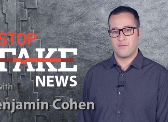 StopFakeNews #129 [ENG] with Benjamin Cohen