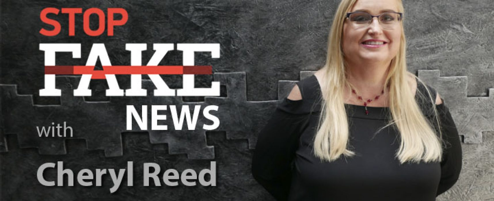 StopFakeNews #130 [ENG] with Cheryl Reed