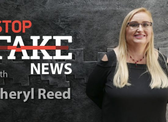 StopFakeNews #130 with Cheryl Reed