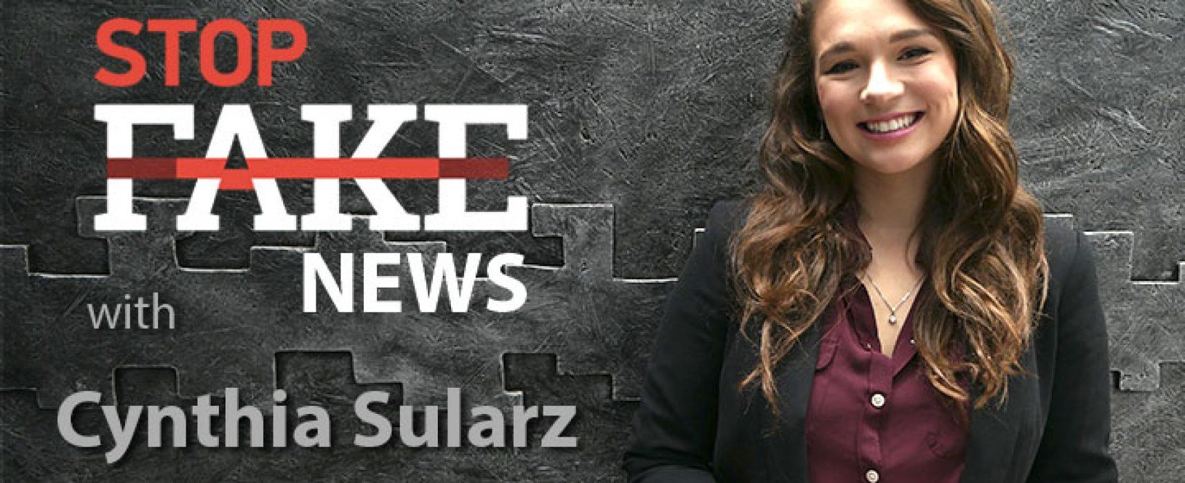 StopFakeNews #131 [ENG] with Cynthia Sularz